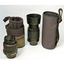 Bolsito Porta Lentes Para Fotografia, Objetivos, Zoom Flash