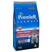 Ração Premier Cães Adultos Raças Pequenas 15kg