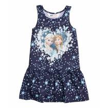 Vestido Frozen Nena 2-4 Años Original Licencia Disney