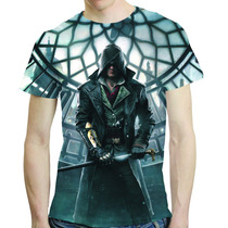Camisa Assassins Creed Camiseta Syndicate Estampa Total 05