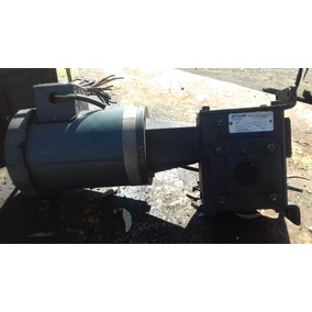 Reductor 2.9 Hp C/motor 1 Hp. 1725 Rpm. 220-440 Rel. 10:1