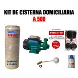 Kit De Cisterna 500 Litros Con Bomba De Agua, Automatizada