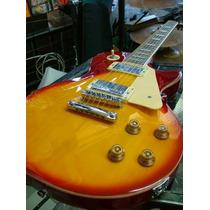 Guitarra Electrica Les Paul Mirrs Mango Encolada Novamusic