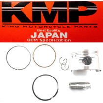 Kit Pistão C/ Anéis Shineray 70cc 0,50mm Kmp Garcia Japan