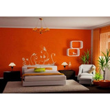Latex Color Naranja Interior-exterior Preparado X 10 Lts