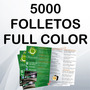 5000 Folletos Full Color A4 (20x30 Cm) Envío Gratuito!!!