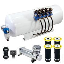 Kit Suspensão A Ar Em Bloco 8v 8mm - Vw Saveiro G5 - Lenta