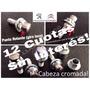Tuercas Antirrobo Cromados Peugeot Con Cabeza Giratoria