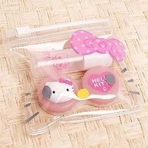 Estuche Para Lentes De Contacto Hello Kitty