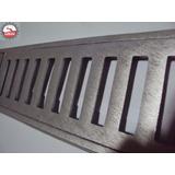 Ralo Linear 10x100 Coleta Água Pluvial Grelha Alumínio