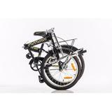 Bicicleta Plegable Rodado 20 Liviana Orgami Colores Futura