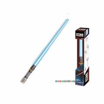 Espada Sabre Star Wars Luz E Som Azul