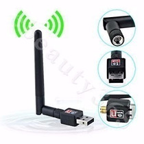 Adaptador Usb Wifi Nano Mini N300mbps 2dbi Antena Plug&play
