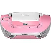 Som Philips Boombox Cd/mp3/usb-mod.az1837p-seminovo