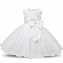 Vestido Infantil Festa Casamento Daminha Dama Honra Florista