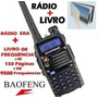 Kit Radio Ht(uhf+vhf)uv-5ra-100a999mhz!+ Livro Frequencia.