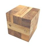 Juegos De Clavo Del Rompecabezas Del Cubo De Madera
