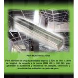 Perfil Montante 34mm X 2.60m Placa De Yeso Durlock Oferta