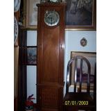 Reloj De Pie Jhunghans (germany)medio Carrillon Estilo Franc
