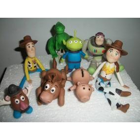 Adornos De Torta De Toy Story Elegi 4 Personajes