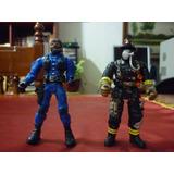 Espectacular!! Figuras De Accion De Bombero Y Swat Police