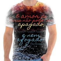 Camisa, Camiseta Gospel Moda Evangélica Frases Cristã 219