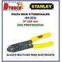 Pinza Para Terminal Pela Cable Stanley 84-223 Electricidad