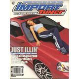 Lote X 4 Revistas De Autos Amer. Import, Honda H R, Tuning,