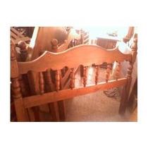 Cama De 2 Plazas En Algarrobo Desde $5400 Torneadas Foto 3