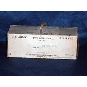 Rara Lampada U.s.navy Jan Cdz-836 Eletronic Enterprise 1943