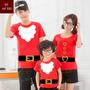 Camiseta Natal Ano Novo Papai Noel Personalizada Kit Com 3