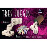 Tres Juegos Domino Generala Palitos Chinos Totogames