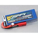 Bat Lipo Zippy De 2s 5000mah 30c Hardcase Autos Rc Nuevas!!