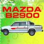 Calcomania Decoracion Pick Up Mazda