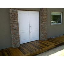 Decks De Guayubira Madera Dura De 1ra Calidad Para Exterior