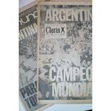 Clarín Mundial 78 Argentina Campeón