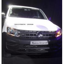 Okm Volkswagen Nueva Amarok 4x2 Trendline Linea 2017 Alra