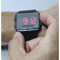 Kit 2 Relógios De Pulso Digital Led Watch