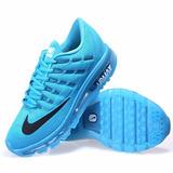 Tênis Nike Airmax Plus Premium Azul Masculino Frete Grátis