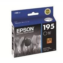 Cartucho Tinta Epson T195 Negro