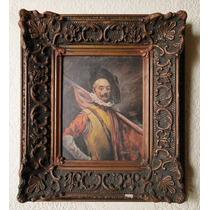 Antiguo Cuadro Oleo Sobre Hardboard Firmado De Livio