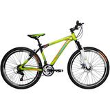Bicicleta Lahsen Xt 9007 Mtb Aro 26 Aluminio Color Verde