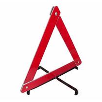 Triângulo Sinalização Carro Pé Em Cruz Emergência Universal