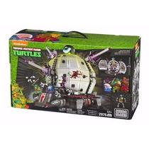 Tortugas Ninja Nuevo Set Tecnodromo De Mega Bloks En Oferta