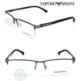 Lentes Emporio Armani Ea1041 3130 Gunmetal Rubber Oftalmico