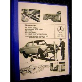 Mercedes Benz Clasico Manual 220b 220sb 220seb S Sedan 1960
