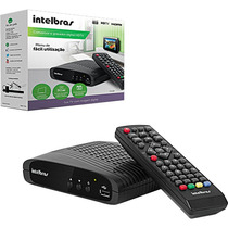 Coversor Digital De Tv Com Gravador Via Pendriver Intelbras