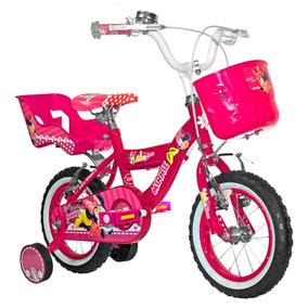 Bicicleta Lahsen Minnie Aro 12 Fucsia