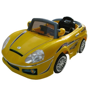Carro Electrico Montable A Bateria Con Control Remoto Mp3
