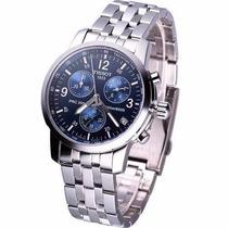 Relógio Tissot Prc200 - Prc 200 Original Azul Suiço Eta Swis